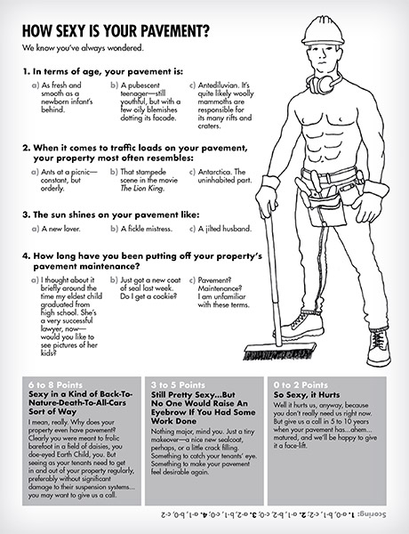 Black Diamond Paving Activity Book How Sexy is Your Pavement