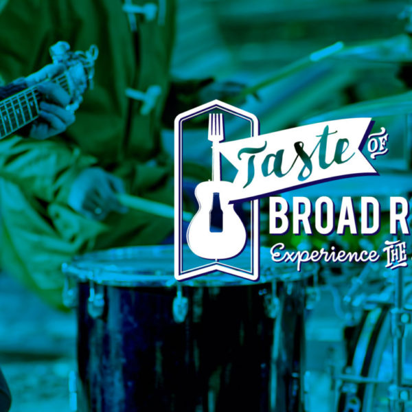 Taste of Broad Ripple Branding Logo Web Design